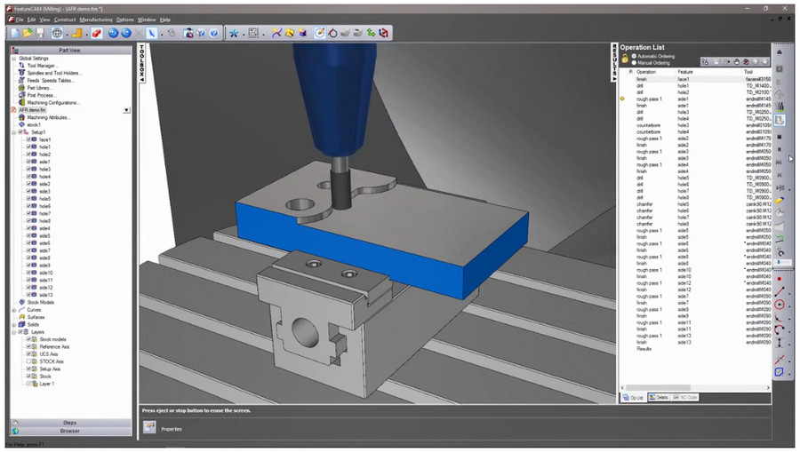 Autodesk FeatureCAM 2019 Direct Link Download
