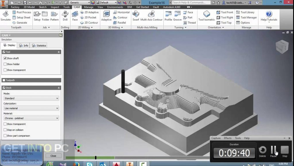 Autodesk HSMWorks 2019 x64 Free Download