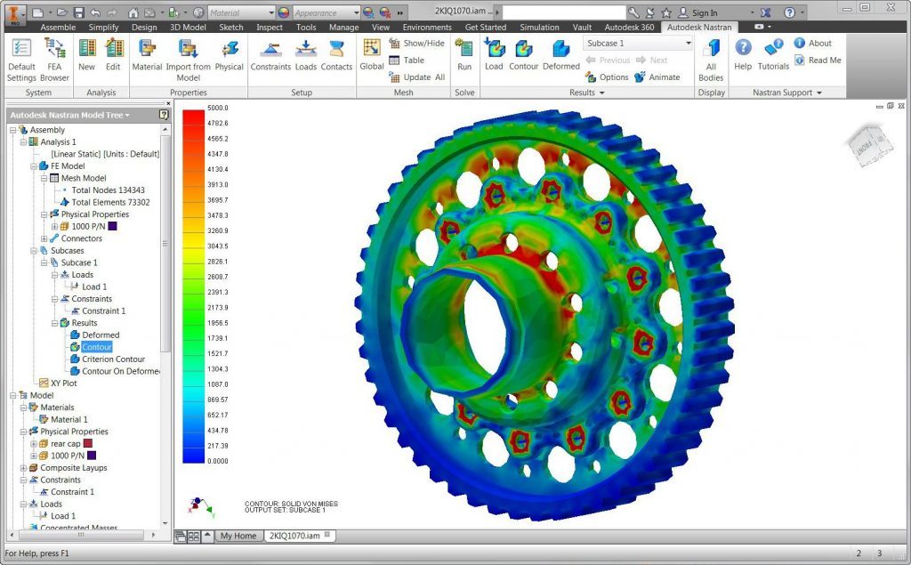 Autodesk Nastran In-CAD 2019 Direct Link Download