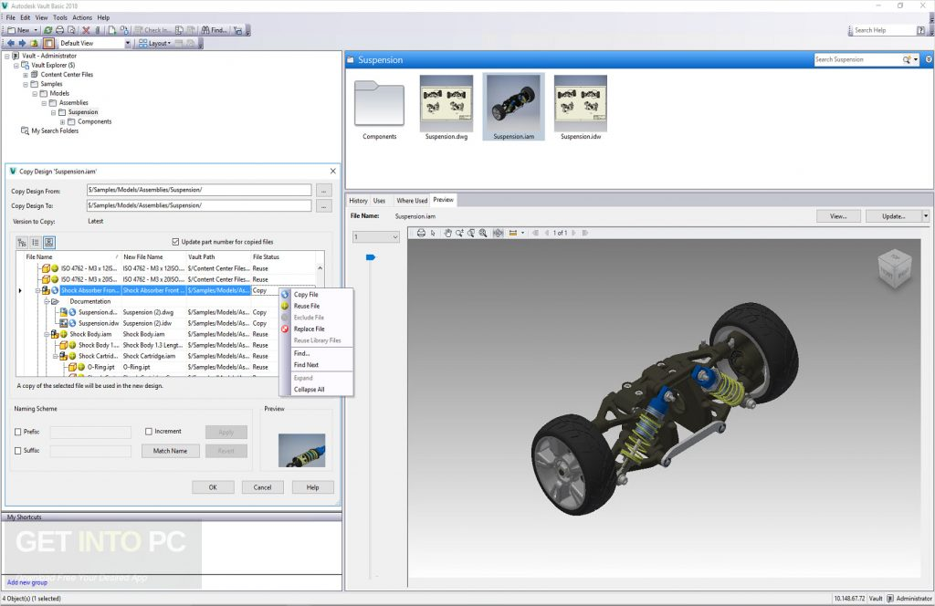 Autodesk Vault Products 2019 x64 Free Download