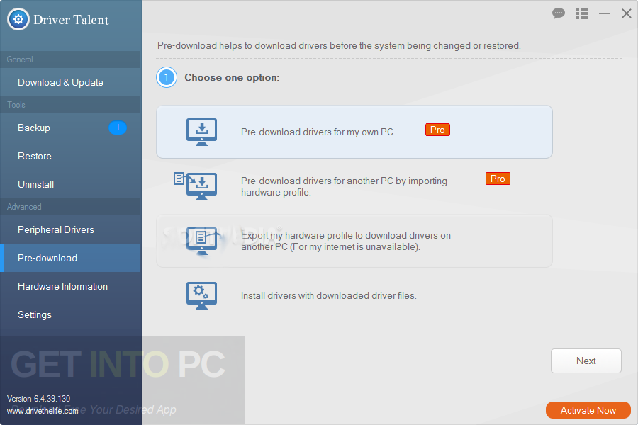 Driver Talent Pro 6.5.60.172 Portable Offline Installer Download