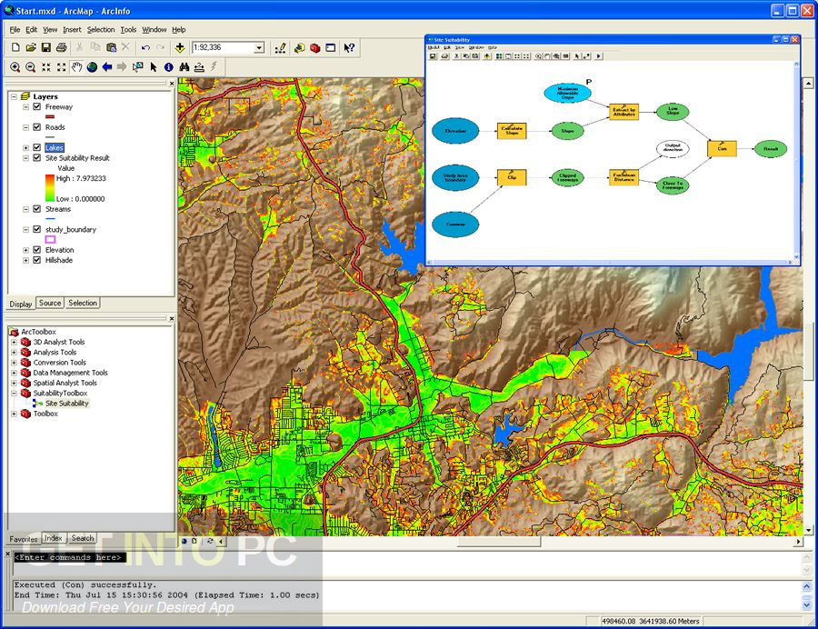 ESRI ArcGIS Desktop 10.5.0.6491 + Addons Direct Link Download