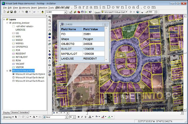 ESRI ArcGIS Desktop 10.5.0.6491 + Addons Latest Version Download