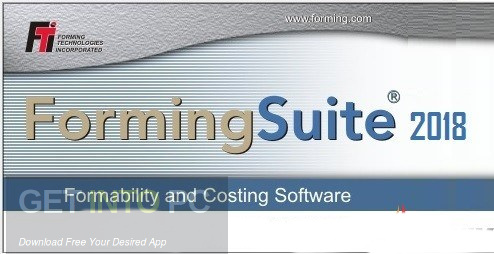 FTI FormingSuite 2018 Free Download