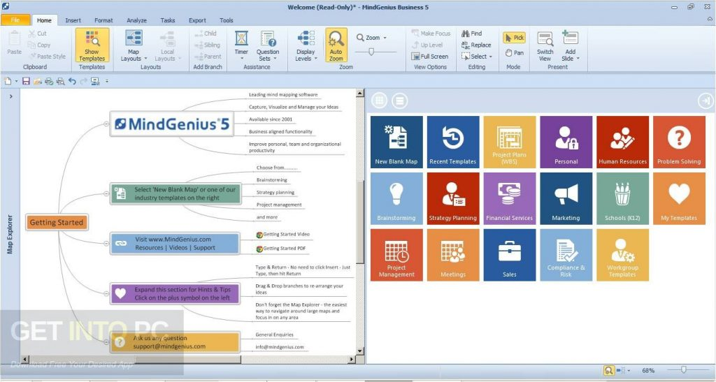 MindGenius Business 2018 Offline Installer Download