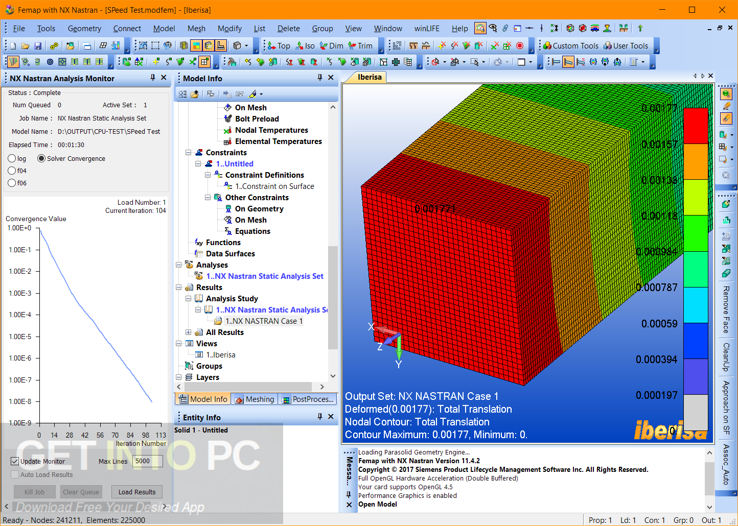 Siemens FEMAP 11.4.2 with NX Nastran x64 Latest Version Download