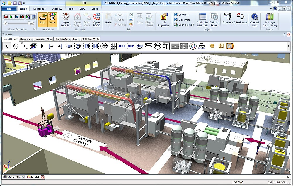 Siemens Tecnomatix Plant Simulation 14.0 Direct Link Download