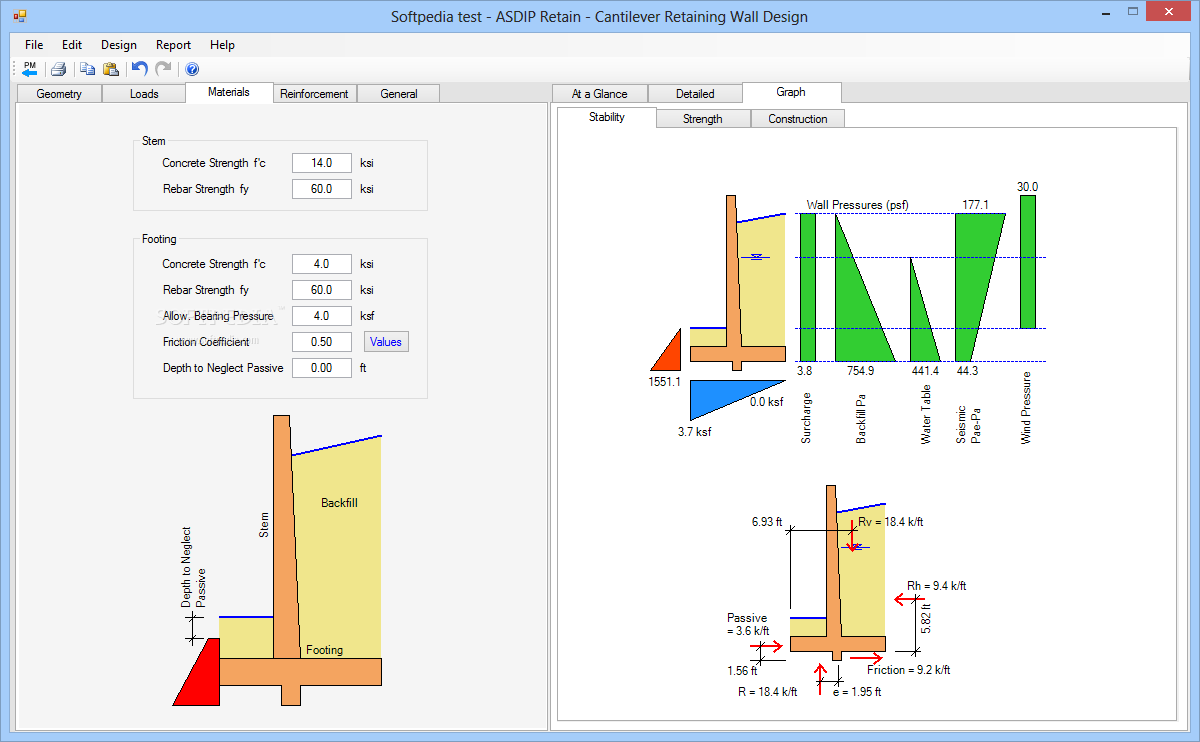 ASDIP Structural Retain 3.7.1 Latest Version Download