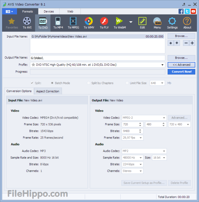 AVS Video Converter 10.1.1.621 + Menu Pack Direct Link Download