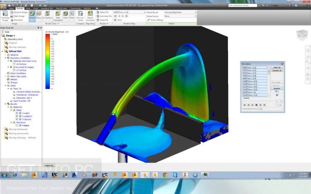 Autodesk Simulation CFD 2018 Motion Offline Installer Download