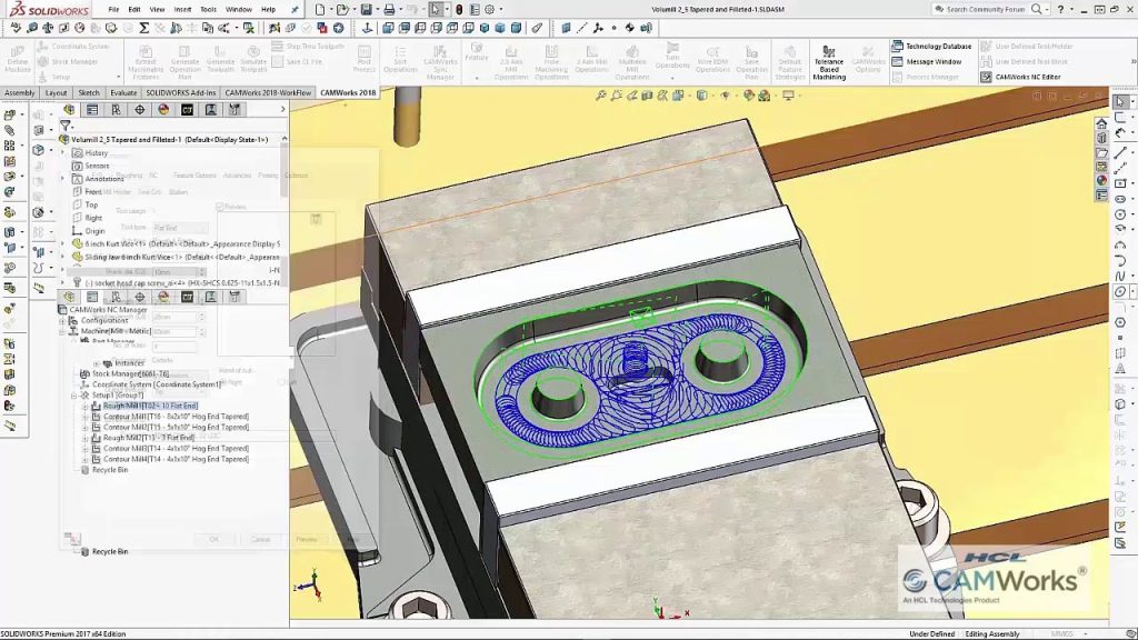 CAMWorks 2018 for SolidWorks & SolidEdge Direct Link Download