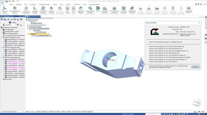 CAMWorks 2018 for SolidWorks & SolidEdge Offline Installer Download