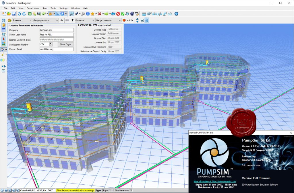Chasm Consulting PumpSim Premium Latest Version Download