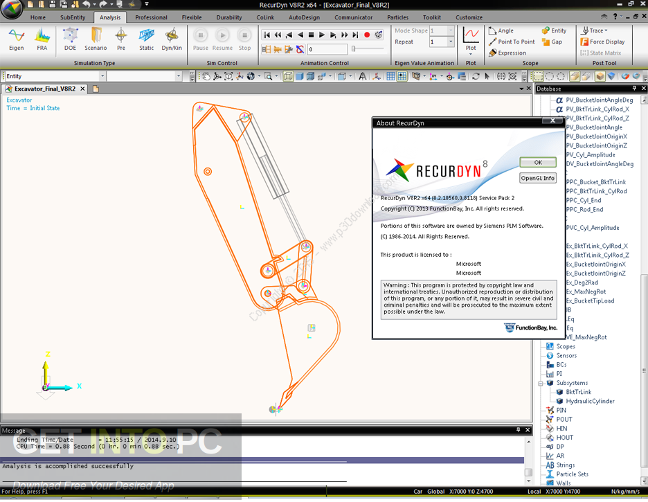 FunctionBay RecurDyn V9R1 DIrect Link DOwnload
