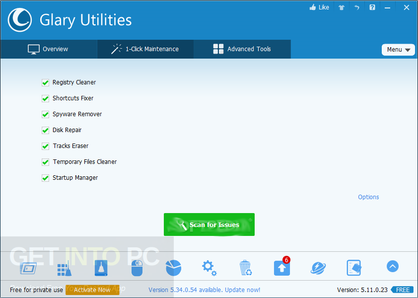 Glary Utilities Pro 5.98.0.120 + Portable Offline Installer Download