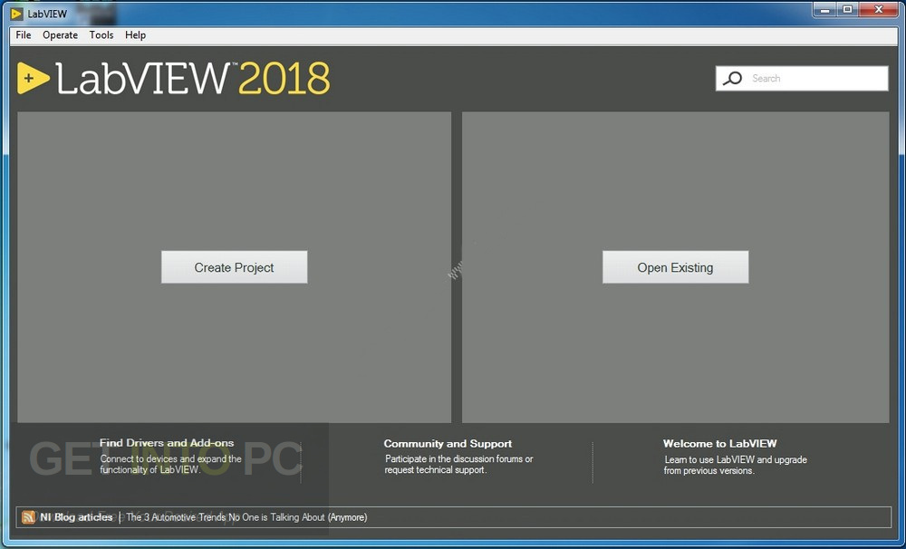 LabVIEW 2018 + Toolkits and Modules Direct Link Download