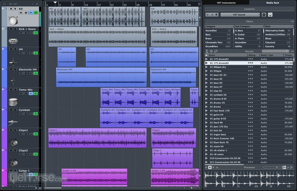 Steinberg Cubase Elements 9.5.30 Free Download