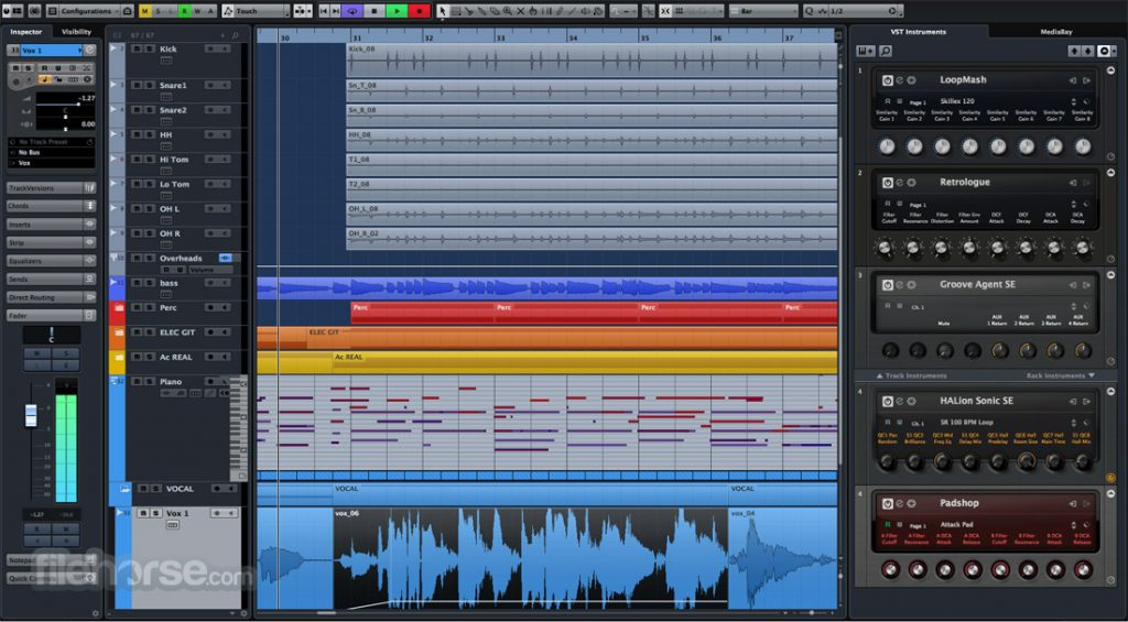 Steinberg Cubase Elements 9.5.30 Latest Version Download