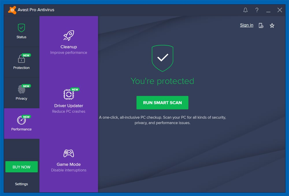 avast pour windows 10 offline installer