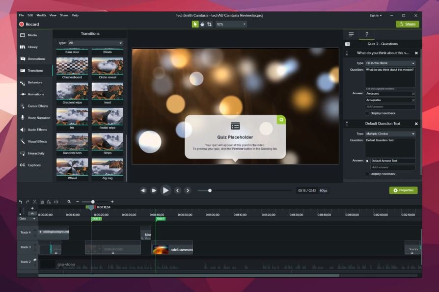 Camtasia 2018 Latest Version Download