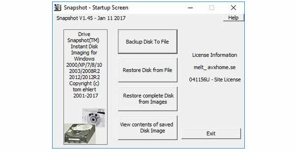 Drive SnapShot + Portable Direct Link Download