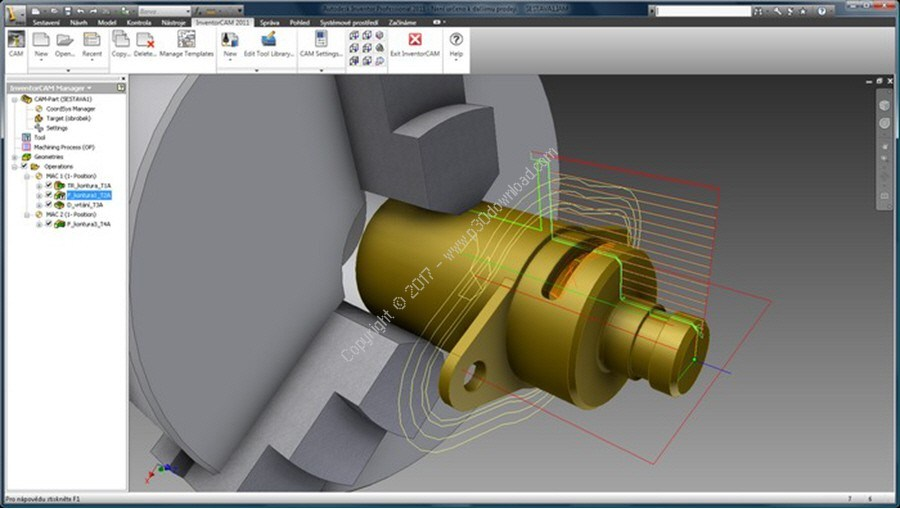 InventorCAM 2017 SP2 HF4 for Autodesk Inventor Offline Installer Download
