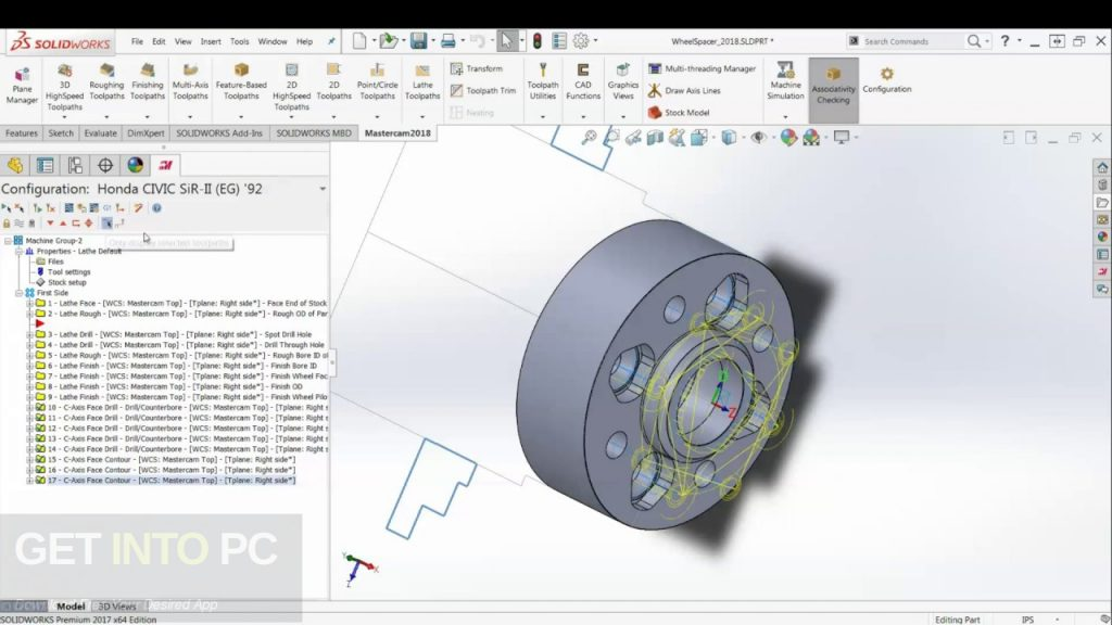 Mastercam 2019 for SolidWorks Direct Link Download