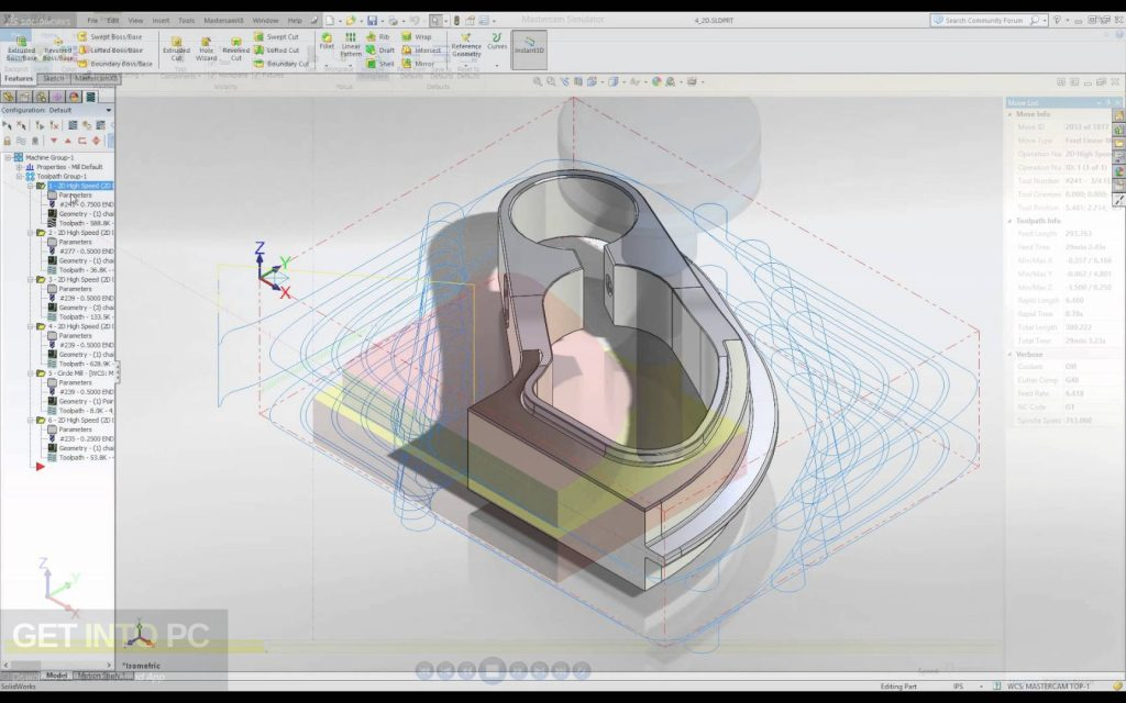 Mastercam 2019 for SolidWorks Offline Installer Download
