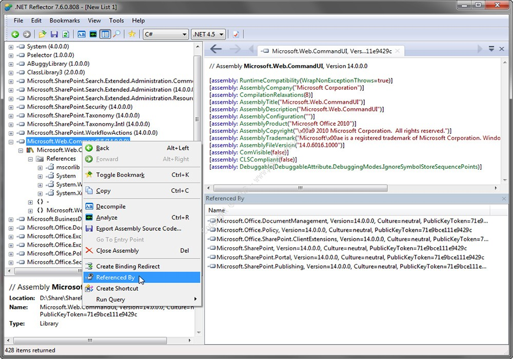 Red Gate .NET Reflector 10.0.6.546 VSPro Direct Link Download