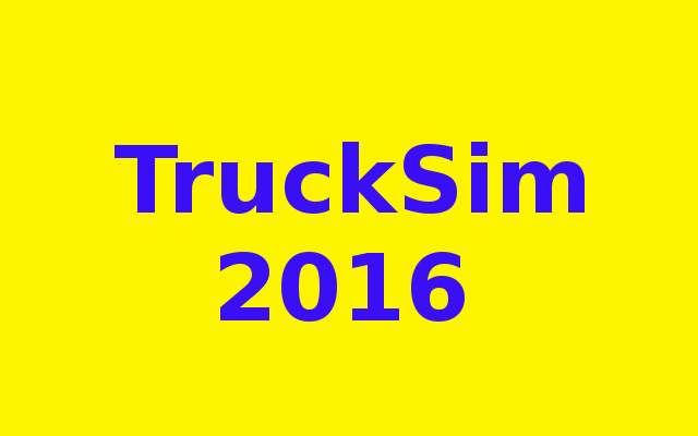 TruckSim 2016 Free Download
