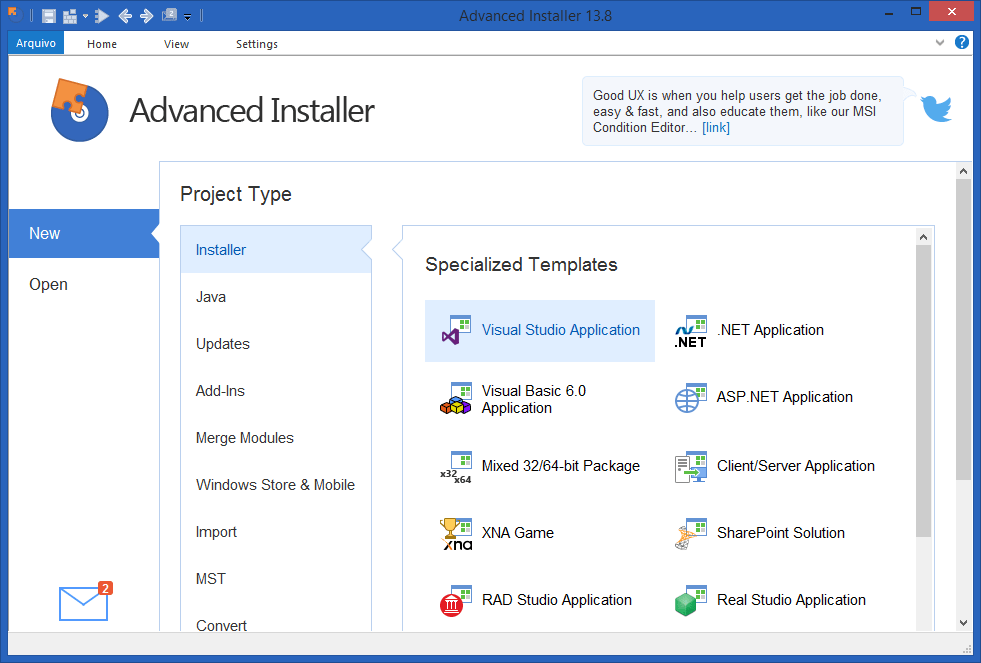 Advanced Installer Architect 15.1 Latest Version Download