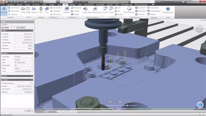 Autodesk Inventor HSM 2019 x64 Latest Version Download