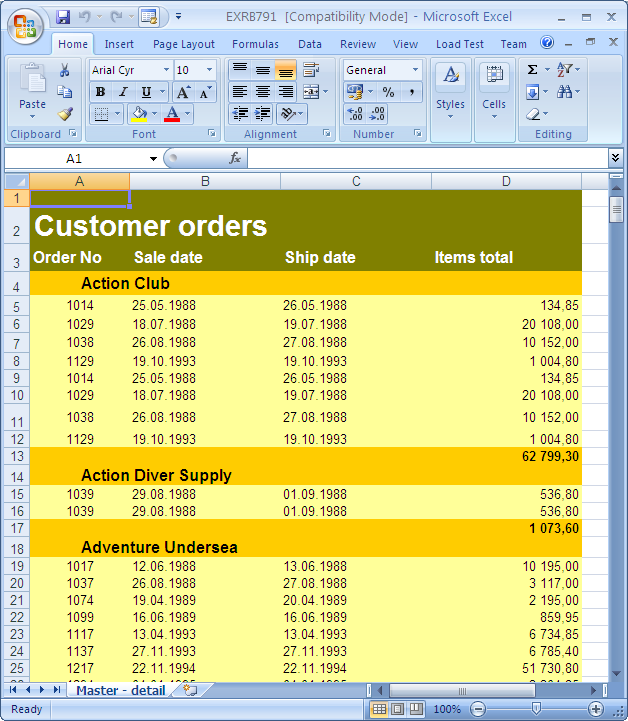 EMS Advanced Excel Report Latest Version Download