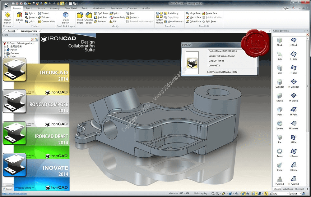 IronCAD Design Collaboration Suite 2018 Direct Link Download