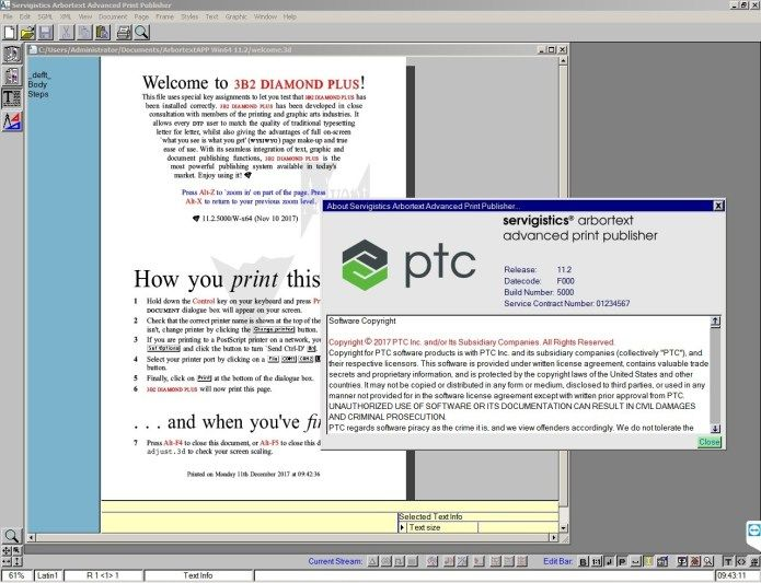 PTC Arbortext Advanced Print Publisher 11.2 M020 Offline Installer Download