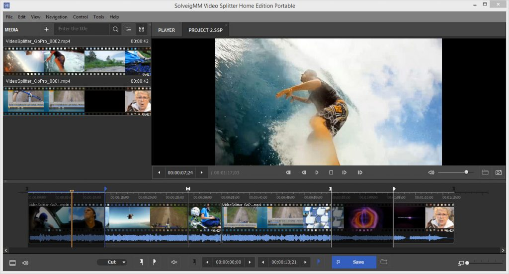 SolveigMM Video Splitter 2018 6.1.1807.24 Offline Installer Download