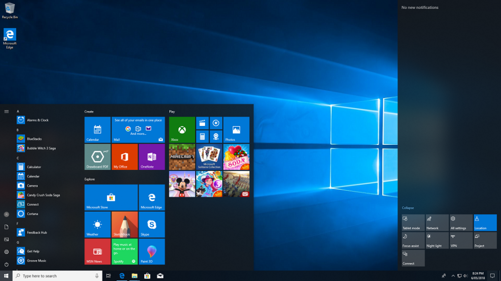 Windows 10 AIO All in One July 2018 Latest Version Download