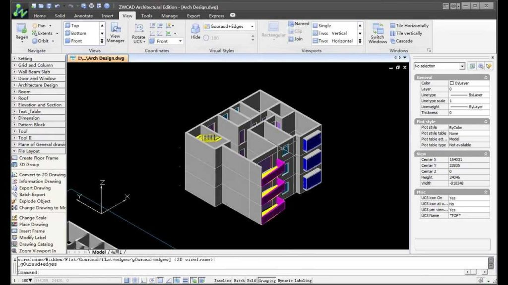 ZWCAD Architecture 2017 Latest Version Download