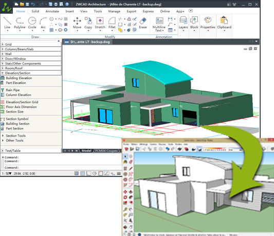 ZWCAD Architecture 2017 Free Download