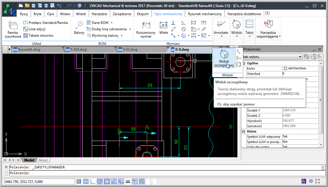 ZWCAD Mechanical 2017 Latest Version DOwnload