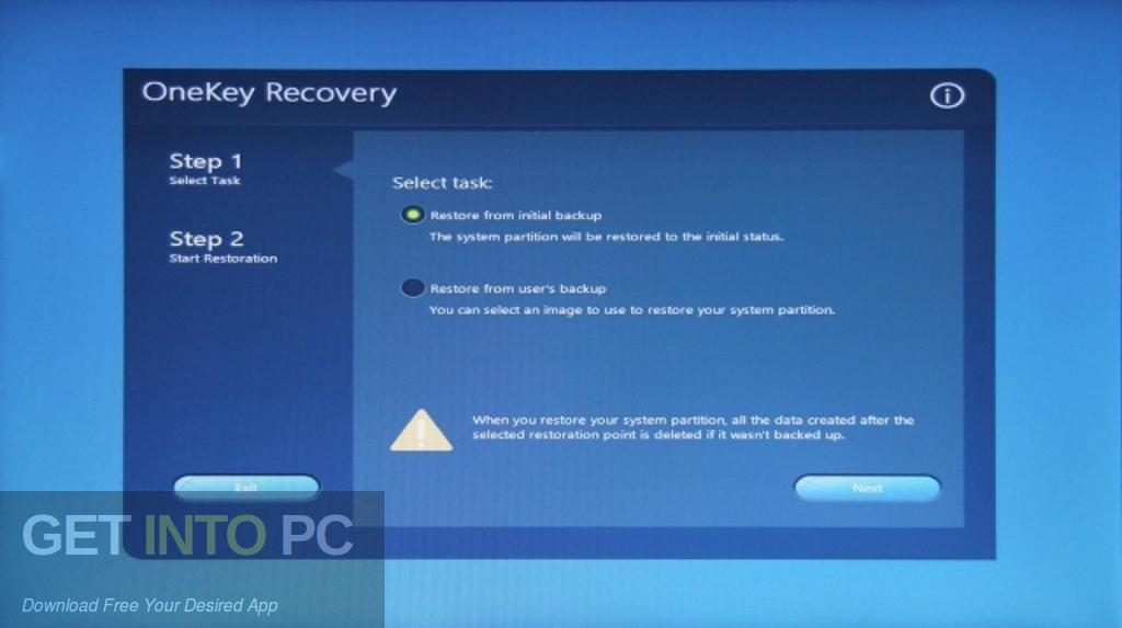 AOMEI OneKey Recovery Professional Direct Link Download-GetintoPC.com