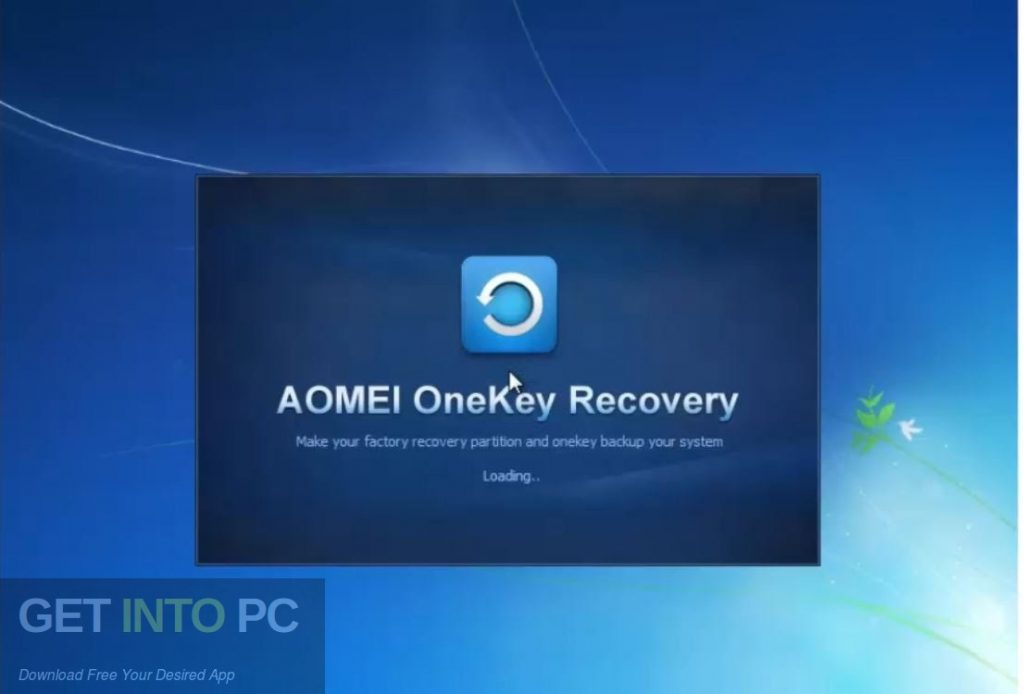 AOMEI OneKey Recovery Professional Free Download-GetintoPC.com
