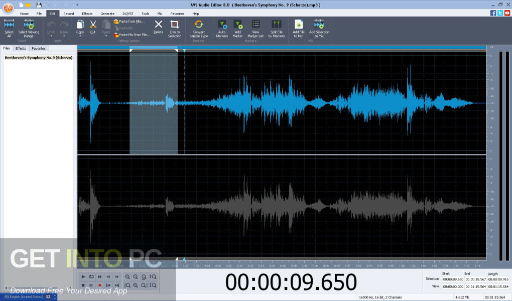 AVS Audio Editor Free Download