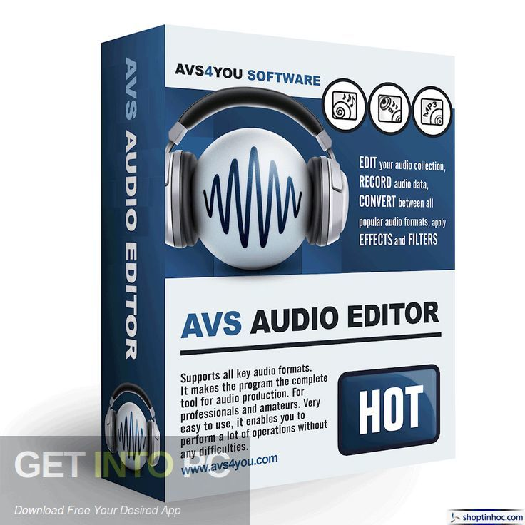 AVS Audio Editor Free Download-GetintoPC.com