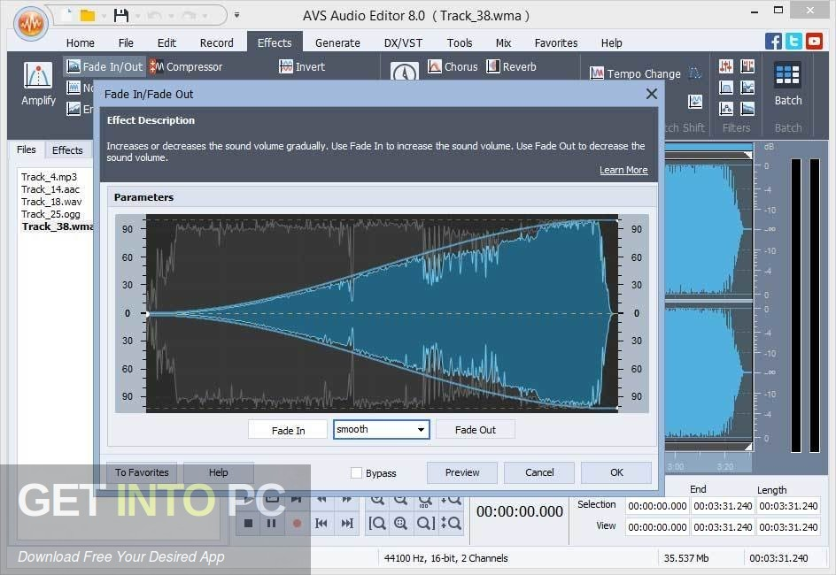 AVS Audio Editor Latest Version Download-GetintoPC.com
