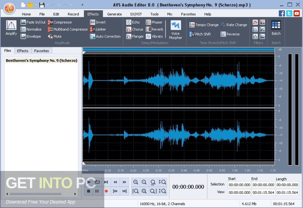 AVS Audio Editor Offline Installer Download-GetintoPC.com