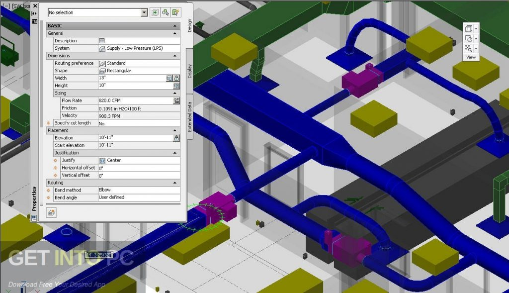 AutoCAD MEP v2017 64 Bit ISO Direct Link Download-GetintoPC.com
