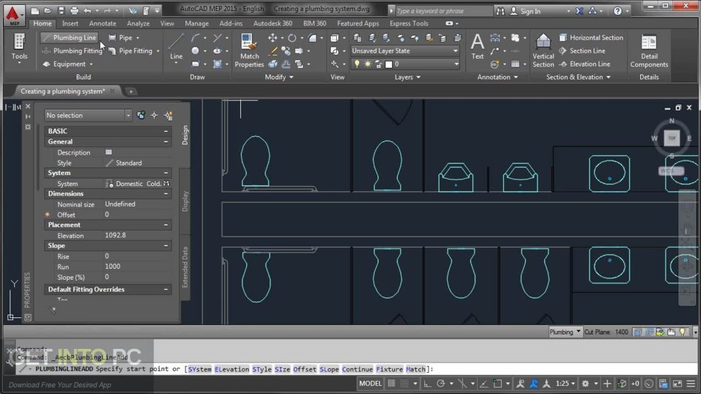 AutoCAD MEP v2017 64 Bit ISO Latest Version Download-GetintoPC.com