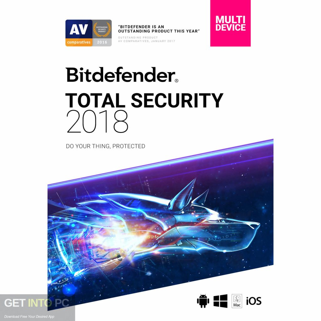 Bitdefender Total Security 2018 Free Download-GetintoPC.com