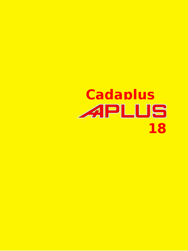 Cadaplus APLUS 18 Free Download